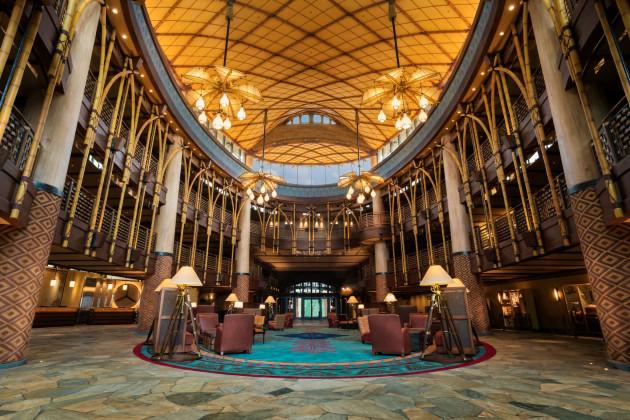 Disney Explorers Lodge_Lobby